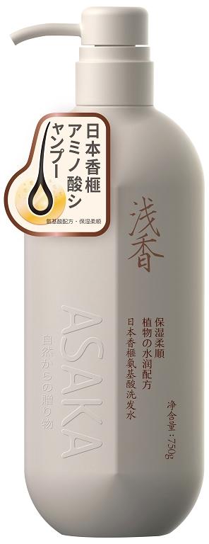 浅香日本香榧氨基酸洗发水.750g