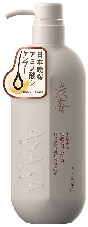 浅香日本晚樱氨基酸洗发水.500g