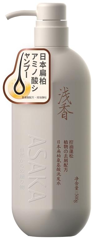 浅香日本扁柏氨基酸洗发水.500g