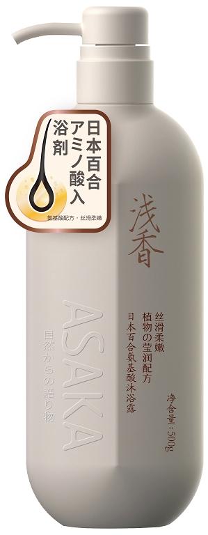 浅香日本百合氨基酸沐浴露.500g